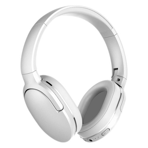 Baseus Encok D02 Foldable Bluetooth 5.0 Wireless Headphones - White